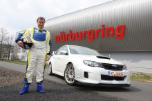 Nya SUBARU STI är snabbast runt Nürburgring