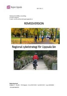 Remissversion Regional cykelstrategi