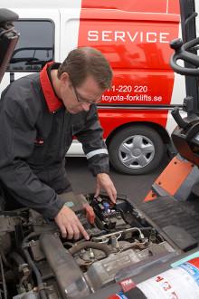 Toyota Material Handling Finland Oy - Toyotalle uusi trukkien huoltopiste Kokkolaan