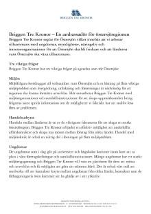 Fakta om Tre Kronor af Stockholm