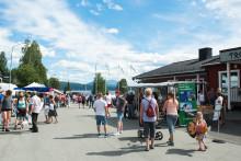 Gränshandelsmarknaden i Tärnaby blir ett miljömärkt event