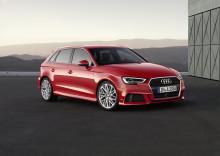 Bästsäljande Audi A3 med vässad design och senaste tekniken