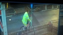 Do you recognise man cycling in high vis jacket?