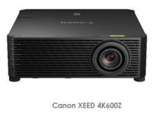Canon utökar serien av världens minsta och ljusstarkaste 4k  projektorer* med kompakta HD modellen XEED 4K600Z
