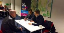 Rekryteringsträff för nyanlända lärare i Helsingborg