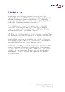 Vår expertis: Privatekonomi