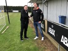 ABAX sponsors Deeping Rangers FC