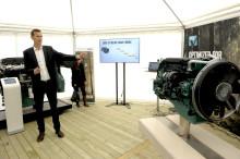 Volvo Penta premiärvisade steg V-motor