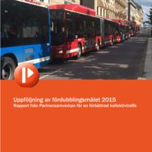 Ny rapport: Regionerna vill fördubbla kollektivtrafiken