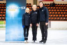 HOLIDAY ON ICE ACADEMY: Frankfurter Nachwuchstalent trainiert mit Idolen Aljona Savchenko und Bruno Massot