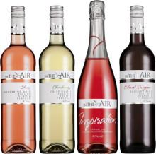 In the Air – med lite alkohol och mycket smak: Ny serie lågalkoholvin för hälsointresserade svenskar