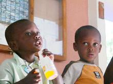 Bortförda barn får skydd i barnby