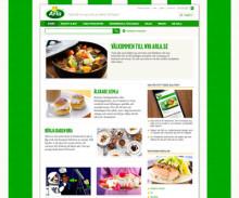 Premiär för Arlas nya webb
