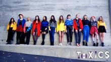 K-POP-gruppen ToXIC$ tilldelas Stockholms stads kulturstipendium för unga 2018