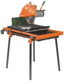 CM 351 Uno; de nieuwe Clipper steenzaagmachine