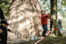 Skogsmulleriket på Billingen i Skövde invigs i helgen