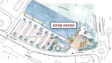 Bränslehuset blir KIFAB Arena - en ny arena för idrottsverksamhet