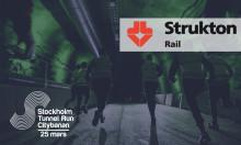Strukton Rail AB tecknar samarbetsavtal med Stockholm Tunnel Run Citybanan 2017