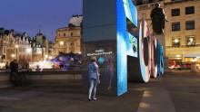 Mi a Te Focus-od? A Ford hatalmas betű-installációja AI segítségével kommunikál az emberekkel