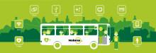 Nobina lanserar tilläggsprodukter för alla bussar