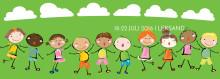 Fri entré till Pyjamasorkestern med Stiko Per på Barnteaterveckan 18 juli