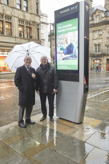 Manchester becomes the first city in North West England to benefit from free ultrafast wi-fi and phone calls