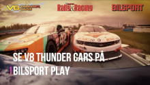 Bilsport och Bilsport Rally & Racing  blir mediepartners till V8 Thunder Cars