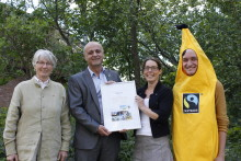 Sigtuna kommun diplomerad Fairtrade City 2014