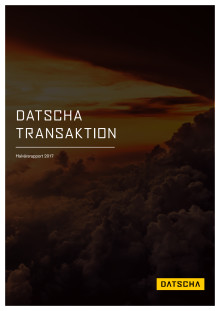 Datschas Transaktionsrapport H1 2017