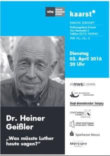 Heiner Geißler - wer kennt ihn noch?