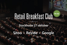 Retail Breakfast Club med Google, Revide och Sitoo