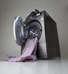 Stilfull design i tvättstugan: LG BIG-IN COMBO – SILVERSKIMRANDE SKÖNHET MED  KAPACITET I VÄRLDSKLASS