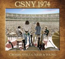 CROSBY, STILLS, NASH & YOUNG SLÄPPER EXKLUSIV BOX CSNY 1974