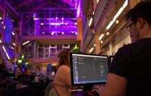 Savecore medarrangör till Norrlands största hack