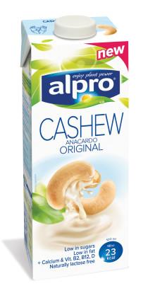 Cashew är Alpros nytillskott bland växtbaserade drycker
