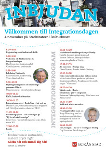 Program för integrationsdagen 2014