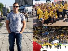 Marcus Johnsson är snickaren som har det hårdaste slagskottet i Sverige