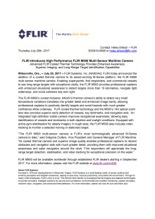 FLIR Introduces High Performance FLIR M500 Multi-Sensor Maritime Camera