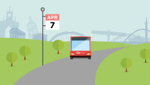 Service changes from 7 April