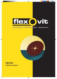 Flexovit FX170 Fiberschuurschijven flyer