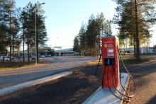 Luleå Energi installerar snabbladdare på Luleå Airport