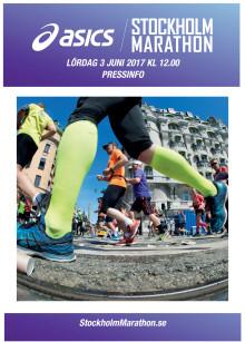 Pressfakta ASICS Stockholm Marathon
