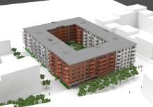 Wästbygg bygger bostäder i Limhamn för MKB