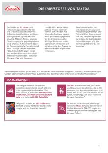 Takedas Impfstoffprogramm