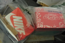 Suspect goods seized in trading standards operation