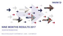 Nine Months Results 2017 – Investor Presentation