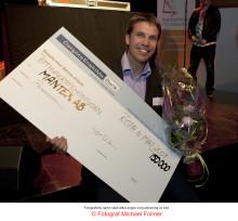 Mantex vann årets Innovation & Technology Award och 150 000 kronor