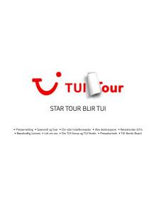 Star Tour blir TUI