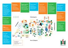 Karta aktiviteter i Folkets park 19 maj 2017