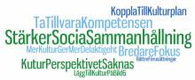 Mer kultur efterlyses i den regionala utvecklingsstrategin för Region Örebro län